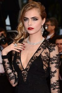 Cara Delevingne Taille