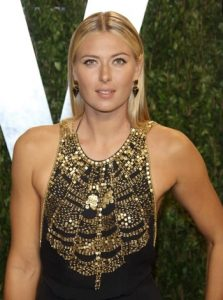 Maria Sharapova Taille