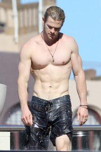Chris Hemsworth Corps Poids