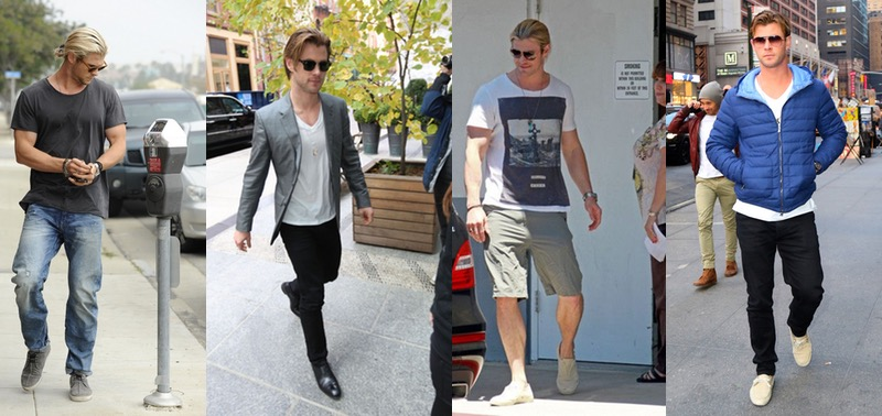 Chris Hemsworth Style