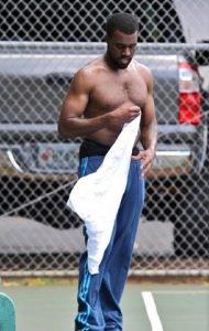 Kanye West Poids