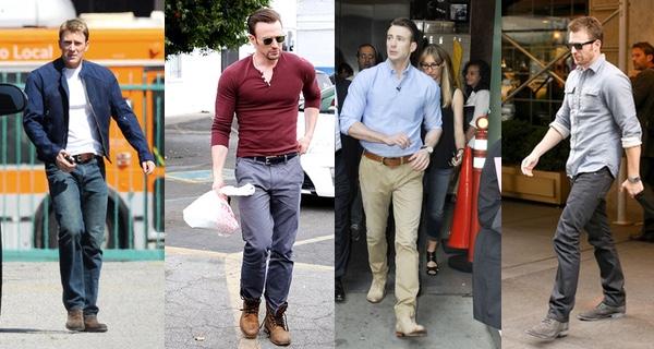 Chris Evans Style