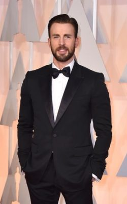 Chris Evans Taille