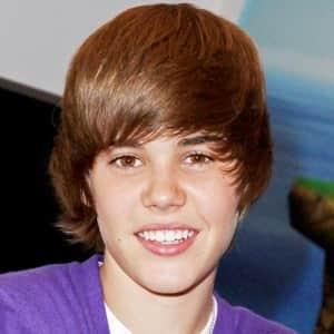 Justin Bieber Cheveux Avant