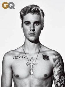Physique de Justin Bieber