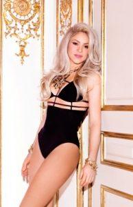 Shakira Taille Poids