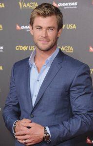 Chris Hemsworth Taille