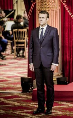 Emmanuel Macron Taille