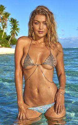 Gigi Hadid Poids Bikini
